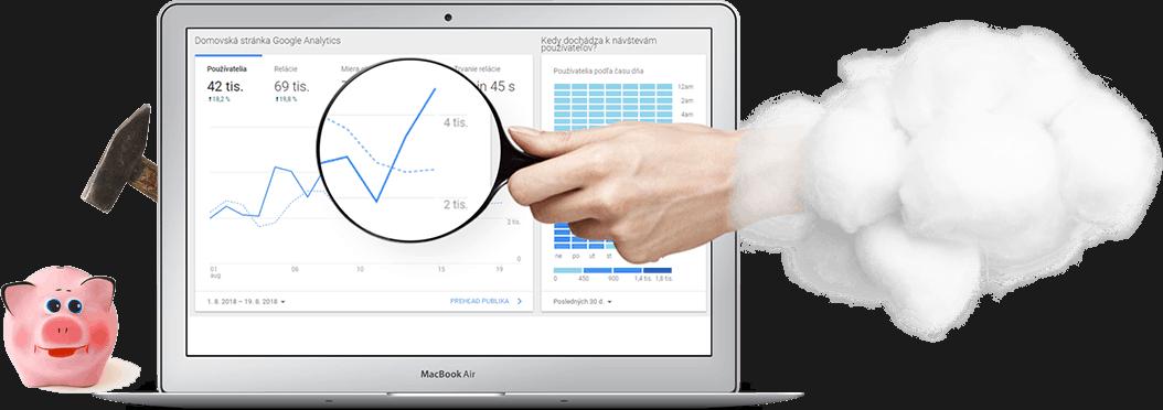 tvorba e-shopu, měření